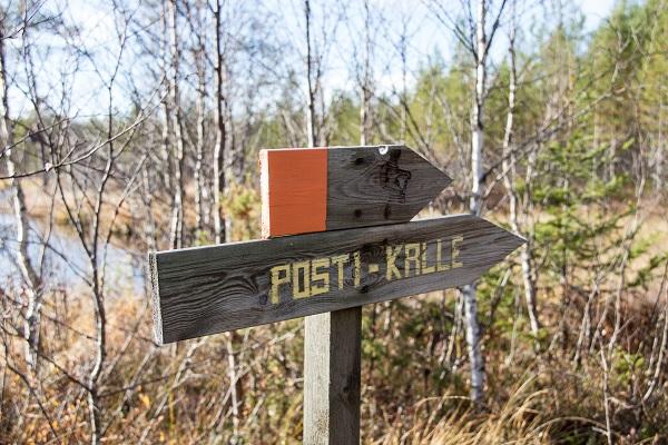 Posti-Kallen vaellusreitti